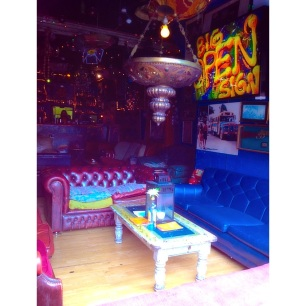 eclectic pub in edgy East London