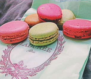 Laduree Macaroons in Paris