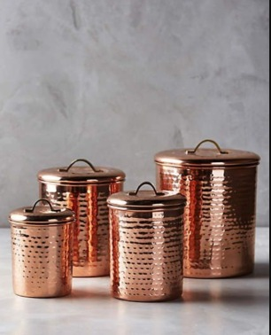 kitchen canisters, Anthropologie