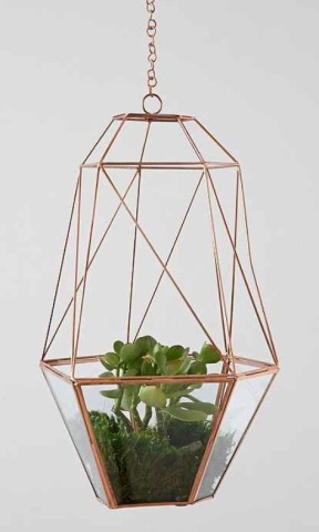 hanging terrarium, Urban Outfitters Home