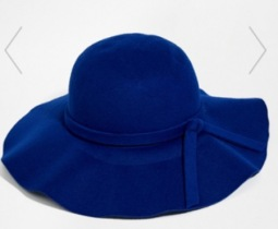 Yumi Floppy 70s felt hat, at Asos