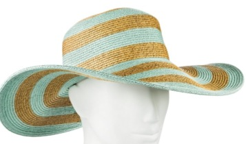 Mint/Natural hat by Merona (at Target)