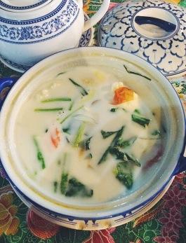 Tom Kha Kai (Thai chicken coconut soup)